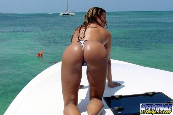 Ass On Boat 44